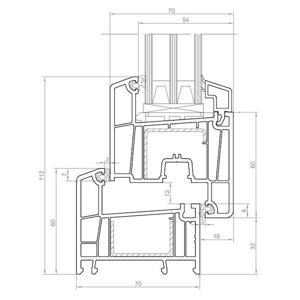 Схема профиля Brusbox Super Aero